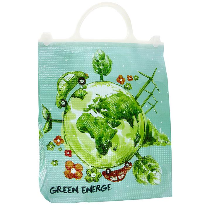 Термосумка Green EnergeКС-304Термосумка Green Energe с пластиковыми ручками прекрасно подходит для перевозки охлажденных напитков или продуктов. Применяемые в изготовлении термосумки материалы и технологии позволяют до 6 часов сохранять напитки и продукты прохладными. Для наиболее продолжительного эффекта рекомендуется использовать аккумуляторы холода.