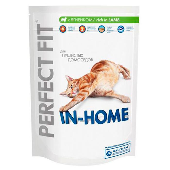 "Корм сухой ""Perfect Fit"" для домашних кошек, с ягненком"