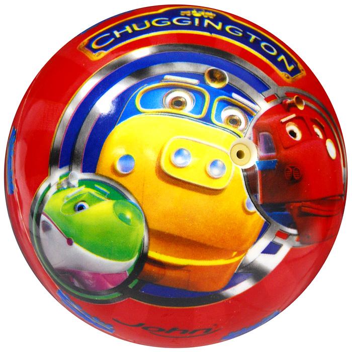 John мяч Чаггингтон, 9 см54190/50190Детский мяч Чаггингтон - яркая игрушка для детей любого возраста. Мяч оформлен красочными изображениями знаменитых веселых паровозиков из Чаггингтона. Яркий компактный мяч Чаггингтон станет незаменимым спутником для всех любителей подвижных игр и активного отдыха. Игра в мяч развивает координацию движений, способствует физическому развитию ребенка.
