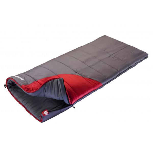 Спальник Trek Planet Dreamer, цвет: темно-серый, красный, левосторонняя молния70368(н)-LКомфортный, просторный и очень теплый 3х сезонный спальник-одеяло Trek Planet Dreamer предназначен для походов и для отдыха на природе не только в летнее время, но и в прохладные дни весенне-осеннего периода. В теплое время спальный мешок можно использовать как одеяло (в том числе и дома), полностью расстегнув молнию.Застегнутый спальник имеет габаритные размеры 90 см х 200 см. К несомненным достоинствам спальника можно отнести его повышенную комфортность и размер: спальник подходит даже для очень крупных туристов. Особенности спальника: Увеличенная ширина спальника, 7-канальный наполнитель Hollow Fiber, Усиленный полиэстер RipStop, Двухсторонняя молния, Внутренний материал - мягкий поликоттон, Термоклапан вдоль молнии, Внутренний карман, Возможно состегивание спальников между собой (левая и правая молнии). К спальнику прилагается компрессионный чехол для удобного хранения и переноски. Характеристики: ...