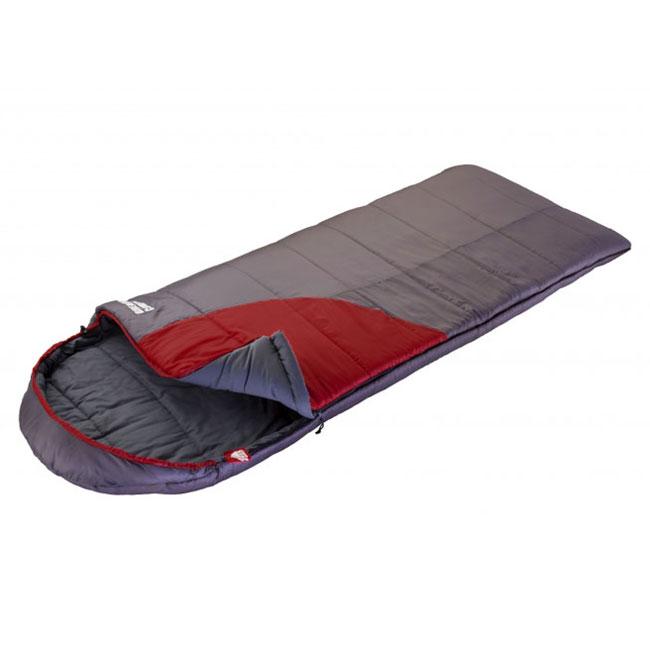 Спальник Trek Planet Dreamer Comfort, цвет: темно-серый, бордовый, правосторонняя молния70390-RКомфортный, просторный и очень теплый 3х сезонный спальник-одеяло с капюшоном Trek Planet Dreamer Comfort предназначен для походов и для отдыха на природе не только в летнее время, но и в прохладные дни весенне-осеннего периода. В теплое время спальный мешок можно использовать как одеяло (в том числе и дома). К несомненным достоинствам спальника можно отнести его повышенную комфортность и Размер: спальник подойдет для крупных и высоких туристов, а теплый капюшон согреет в холодные ночи. Особенности спальника: Увеличенная ширина спальника, Глубокий теплый капюшон, 7-канальный наполнитель Hollow Fiber, Усиленный полиэстер RipStop, Внутренний материал - мягкий поликоттон, Термоклапан вдоль молнии, Возможно состегивание спальников между собой (левая и правая молнии). К спальнику прилагается компрессионный чехол для удобного хранения и переноски. Характеристики: Цвет: темно-серый/бордовый t°...