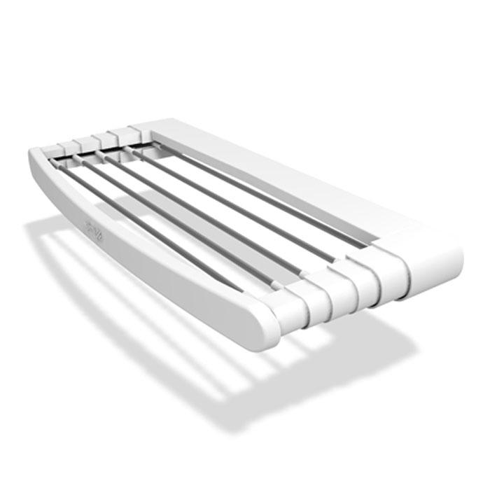 Сушилка для белья Telepack 70, раздвижная10770075Раздвижная сушилка для белья Telepack 70 - удобная и функциональная вещь, которая поможет сэкономить пространство, а также бережно и аккуратно высушить белье. Она идеально подходит для крепления около радиатора отопления, на балконе, в ванной комнате или в каком-либо другом удобном для вас месте. Сушилка изготовлена из прочного пластика и имеет шесть алюминиевых струн. Она надежно крепится к поверхности с помощью шурупов и дюбелей (в комплект не входят). В сложенном виде сушилку можно использовать как удобную вешалку для полотенец. Простая и практичная конструкция такой сушилки делает ее незаменимой вещью в каждом доме. Характеристики: Материал: пластик, алюминий. Размер сушилки (в разложенном виде): 38 см х 5 см х 70 см. Размер сушилки (в сложенном виде): 15 см х 5 см х 70 см. Максимальная нагрузка: 7 кг. Размер упаковки: 74 см х 6 см х 15 см. Производитель: Италия. Артикул: 10770075. УВАЖАЕМЫЕ КЛИЕНТЫ! Обращаем...