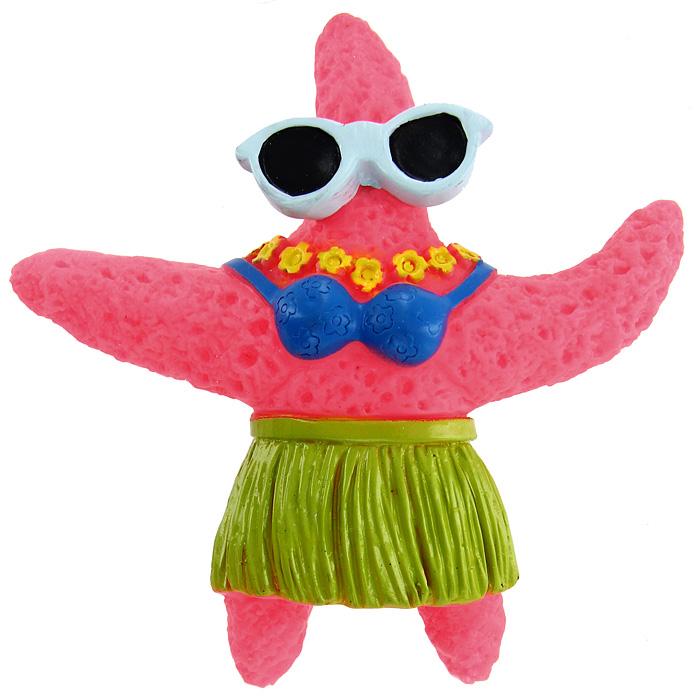 """Игрушка для собак Ziver """"Морская звезда"""", с пищалкой, цвет: розовый, высота 12,5 см 40.ZV.011, 40.ZV.012"""