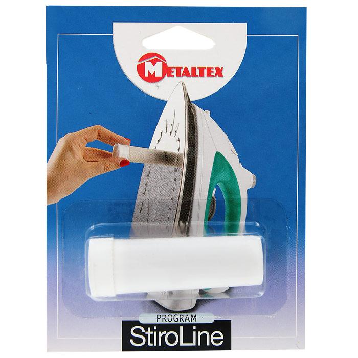 Карандаш для очистки утюгов Metaltex41.84.53Карандаш для чистки утюгов Metaltex - идеальное средство для удаления загрязнений с подошвы утюга. Карандаш идеально чистит и предохраняет рабочую поверхность утюга, улучшает скольжение по ткани.