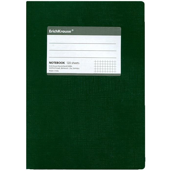 Тетрадь One Color, цвет: зеленый, 120 листов, А527953Тетрадь One Color в клетку из белой офсетной бумаги послужит прекрасным местом для различных записей. Обложка тетради выполнена из тонкого картона с покрытием. Такая тетрадь подойдет как школьнику, так и студенту. Характеристики: Размер тетради: 14,5 см х 20,5 см х 1,1 см. Формат: А5. Количество листов: 120. Материал: картон, бумага. Изготовитель: Индия.