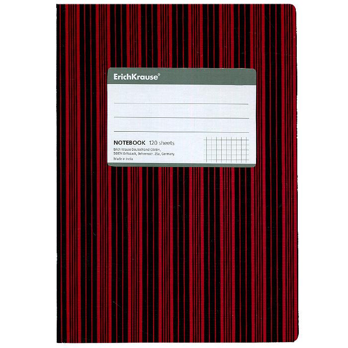 Тетрадь Two Colors, цвет: красный, черный, 120 листов, А527959Тетрадь Two Colors в клетку из белой офсетной бумаги послужит прекрасным местом для различных записей. Обложка тетради выполнена из тонкого картона с покрытием. Такая тетрадь подойдет как школьнику, так и студенту. Характеристики: Размер тетради: 14,5 см х 20,5 см х 1,1 см. Формат: А5. Количество листов: 120. Материал: картон, бумага. Изготовитель: Индия.