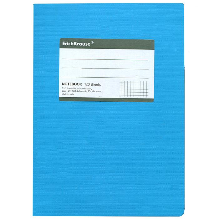 Тетрадь Fluor, цвет: голубой, 120 листов, А531478Тетрадь Fluor в клетку из белой офсетной бумаги послужит прекрасным местом для различных записей. Обложка тетради выполнена из тонкого картона с покрытием. Такая тетрадь подойдет как школьнику, так и студенту. Характеристики: Размер тетради: 14,5 см х 20,5 см х 1,1 см. Формат: А5. Количество листов: 120. Материал: картон, бумага. Изготовитель: Индия.