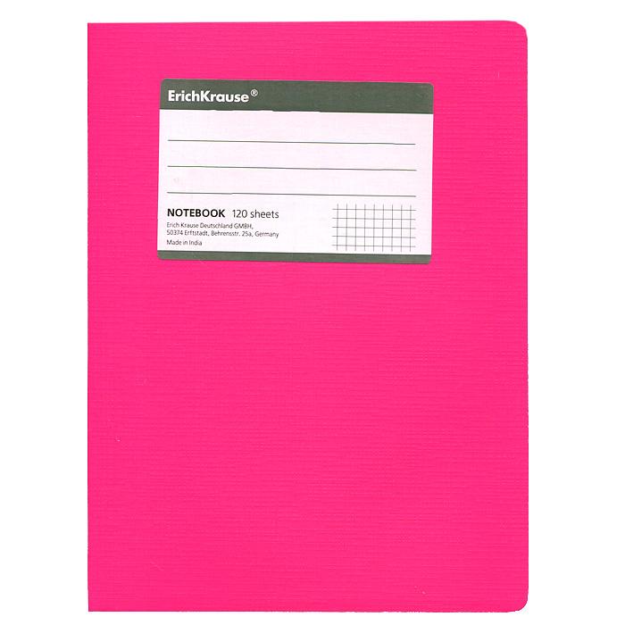 Тетрадь Fluor, цвет: розовый, 120 листов, А527956Тетрадь Fluor в клетку из белой офсетной бумаги послужит прекрасным местом для различных записей. Обложка тетради выполнена из тонкого картона с покрытием. Такая тетрадь подойдет как школьнику, так и студенту. Характеристики: Размер тетради: 14,5 см х 20,5 см х 1,1 см. Формат: А5. Количество листов: 120. Материал: картон, бумага. Изготовитель: Индия.