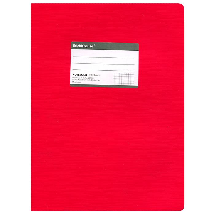 Тетрадь One Color, цвет: красный, 120 листов, А427976Тетрадь One Color в клетку из белой офсетной бумаги послужит прекрасным местом для различных записей. Обложка тетради выполнена из тонкого картона с покрытием. Такая тетрадь подойдет как школьнику, так и студенту. Характеристики: Размер тетради: 20,5 см х 29 см х 1,1 см. Формат: А4. Количество листов: 120. Материал: картон, бумага. Изготовитель: Индия.