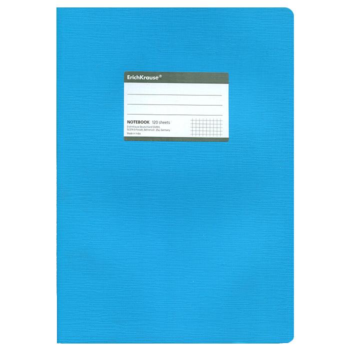 Тетрадь Fluor, цвет: голубой, 120 листов, А431486Тетрадь Fluor в клетку из белой офсетной бумаги послужит прекрасным местом для различных записей. Обложка тетради выполнена из тонкого картона с покрытием. Такая тетрадь подойдет как школьнику, так и студенту. Характеристики: Размер тетради: 20,5 см х 29 см х 1,1 см. Формат: А4. Количество листов: 120. Материал: картон, бумага. Изготовитель: Индия.