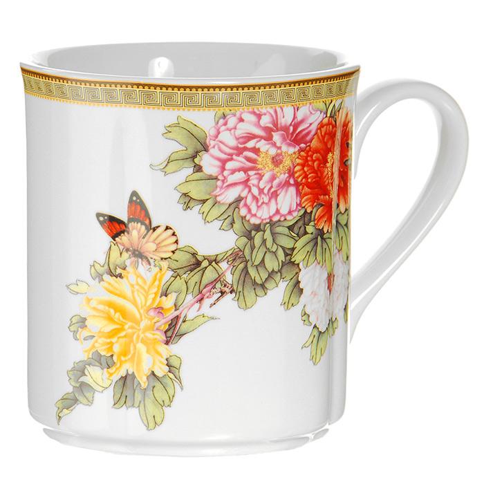 Кружка Японский сад, 300 млIM15018M-1730ALКружка Японский сад выполнена из высококачественной керамики и оформлена цветочным рисунком. Изящный дизайн и красочность оформления придутся по вкусу и ценителям классики, и тем, кто предпочитает утонченность и изысканность. Такая кружка станет незаменимым атрибутом чаепития, а также послужит приятным подарком для друзей и близких. Характеристики: Материал: керамика. Диаметр кружки по верхнему краю: 8,5 см. Высота кружки: 9 см. Объем кружки: 300 мл. Размер упаковки: 11 см х 10 см х 9,5 см. Производитель: Китай. Артикул: IM15018M-1730AL. Изделия торговой марки Imari произведены из высококачественной керамики, основным ингредиентом которой является твердый доломит, поэтому все керамические изделия Imari - легкие, белоснежные, прочные и устойчивы к высоким температурам. Высокое качество изделий достигается не только благодаря использованию особого сырья и новейших технологий и оборудования при изготовлении...