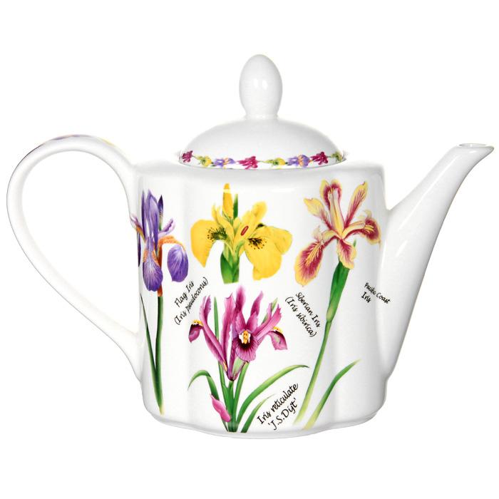Чайник заварочный Ирисы, 1 лIM15018A/1-A93ALЗаварочный чайник Ирисы поможет вам в приготовлении вкусного и ароматного чая, а также станет украшением вашей кухни. Он изготовлен из высококачественной керамики и оформлен красочным изображением ирисов. Яркий цветочный рисунок придает чайнику особый шарм, который понравится каждому. Такой заварочный чайник станет приятным и практичным подарком на любой праздник. Размер чайника: 18 х 24 х 11 см.