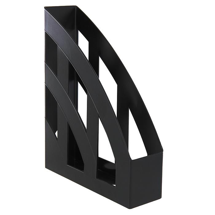 "Подставка для бумаг вертикальная Erich Krause ""Basic"", цвет: черный"