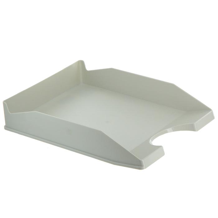 "Лоток для бумаг горизонтальный ""Erich Krause"", цвет: серый. 16250"
