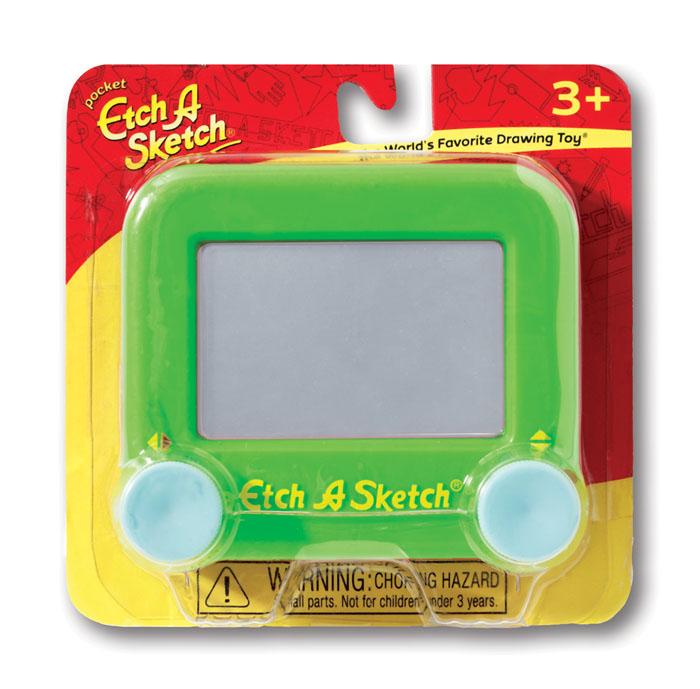 Etch-A-Sketch Волшебный экран цвет зеленый