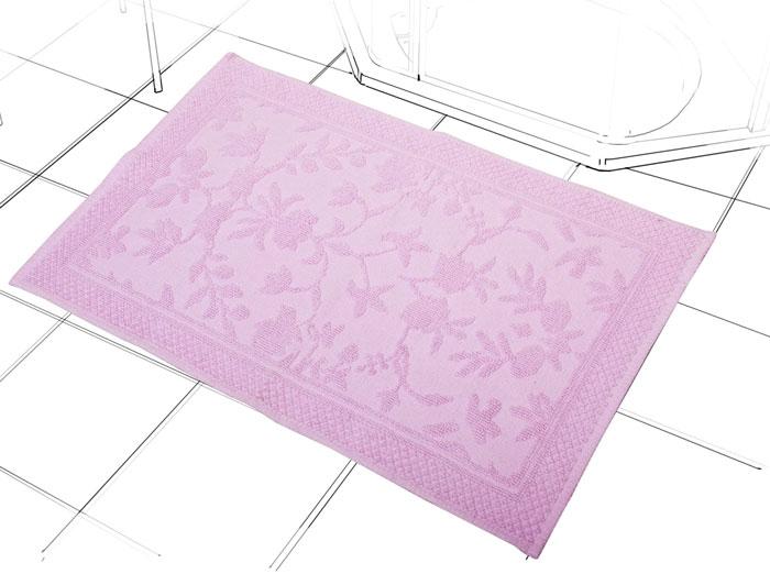 Коврик Кармен, цвет: орхидея, 60 см х 90 см1207.3Коврик Кармен нежного розового цвета с рельефным рисунком, выполнен из высококачественного хлопкового волокна. Высочайшее качество материала гарантирует безопасность для всех членов семьи. Характеристики: Материал: хлопок. Размер коврика: 60 см х 90 см. Цвет: орхидея. Производитель: Индия. Артикул: 1207.3.