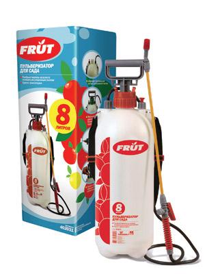 Пульверизатор Frut на штанге, 8л402031Пульверизатор Frut предназначен для распыления воды, удобрений, гербицидов, пестицидов, также может использоваться для распыления чистящих моющих средств. Оснащен эргономичной рукояткой/рычагом. Мощный насос легко увеличивает давление, специальный клапан позволяет автоматически понизить избыточное давление. Латунная форсунка позволяет регулировать распыление от направленной струи до легкого тумана. Для удобства работы прилагается плечевой ремень.