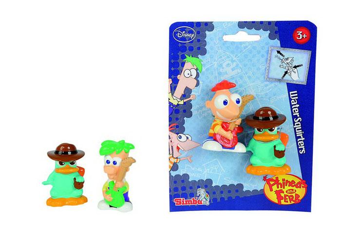 Набор игрушек для ванной Phineas & Ferb, 2 шт7046936Яркий набор игрушек для ванной Phineas & Ferb привлечет внимание вашего малыша и сделает процесс купания веселым и интересным. Набор состоит из двух игрушек-брызгалок в виде героев знаменитого мультфильма Финес и Ферб. Игры с набором для ванной Phineas & Ferb отлично развивают у малышей мелкую моторику рук, координацию движений, воображение и фантазию. Характеристики: Средний размер фигурки: 6,5 см x 4,5 см x 2,5 см. Размер упаковки: 19,5 см x 14,5 см x 4 см. Изготовитель: Китай.