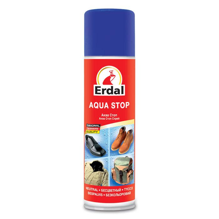 Средство для защиты обуви и одежды от влаги Erdal, цвет: бесцветный, 250 мл204165Специальный фторсодержащий состав для всех видов спортивной и уличной обуви и одежды из кожи и ткани.