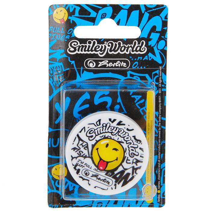 Точилка Smiley WorldC01364 (11229283)Точилка Smiley World с озорным смайликом поднимет настроение любому, кто возьмет ее в руки. Карандаш затачивается легко и аккуратно, а опилки после заточки остаются в специальном контейнере. Характеристики: Материал: пластик, металл. Размер точилки: 4,5 см х 4,5 см х 2 см. Размер упаковки: 11 см х 6 см х 2 см.