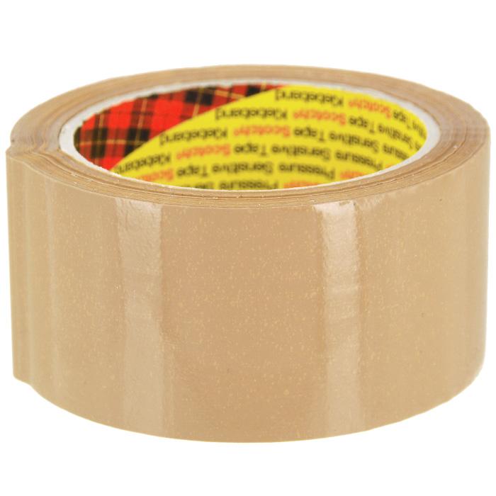 """Клейкая лента """"Scotch"""", упаковочная с повышенной клейкостью, цвет: коричневый"""