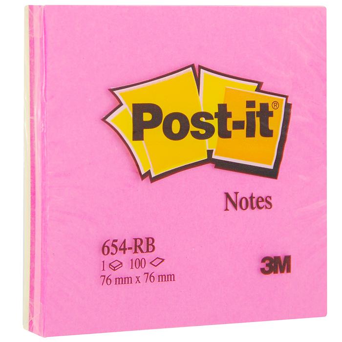 Бумага для заметок Post-it Клубная радуга, с липким слоем, 100 листов654-RB-STБумага для заметок Post-it Клубная радуга прекрасно подойдет для записи номеров телефонов, адресов, напоминания о важной встрече или внезапно пришедшей полезной мысли. Бумагу можно наклеивать на любую гладкую поверхность, без опасения оставить след от клея. Блок содержит 100 листов из бумаги ярких цветов: желтого и трех ярких оттенков розового. Характеристики: Размер листа: 7,6 см х 7,6 см. Количество: 100 листов.