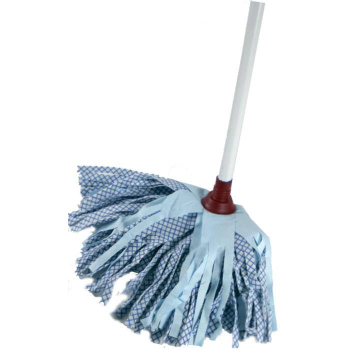 Насадка для швабры Aqualine, сменная, цвет: голубой9022Сменная лепестковая насадка Aqualine предназначена для уборки всех видов полов. Специальная структура микроактивного волокна убирает даже сильные, затвердевшие загрязнения, не оставляя разводов, влага впитывается полностью. Длина насадки: 25 см.