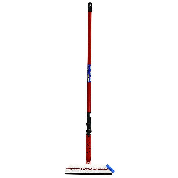 Очиститель для окон Vileda, с телескопической ручкой3687-3Очиститель Vileda прекрасно подойдет для мытья высоких и больших окон. Насадка очистителя состоит из двух частей: одна с тонкой, плотно прилегающей к стеклу резинкой, другая - махровая. Насадка с резинкой мягко удаляет грязь и воду с поверхности, не оставляя царапин и подтеков, а махровая насадка убирает остатки влаги и полирует поверхность. Благодаря телескопической ручке вы сможете достать верхние части окна. Очиститель Vileda делает мытье окон профессиональным: экономит воду и чистящие средства. С таким очистителем обычное, трудоемкое мытье окон становится быстрым и приятным.