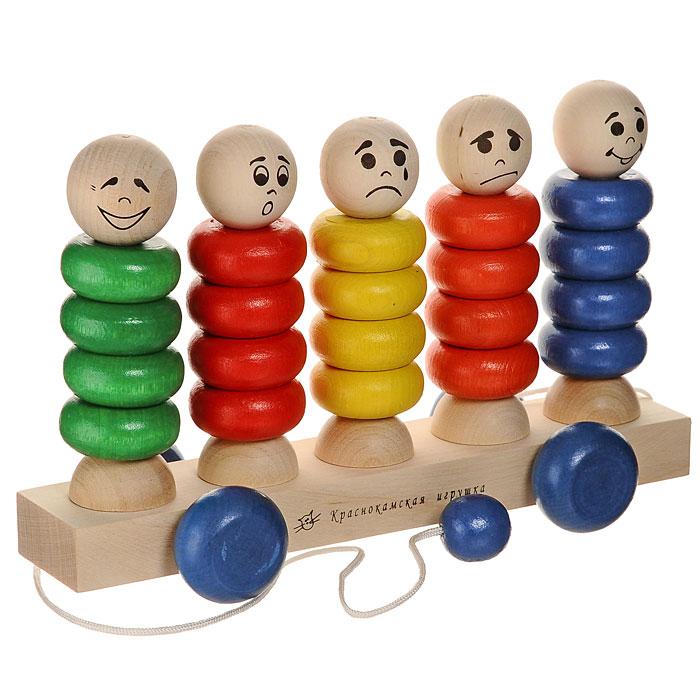 Краснокамская игрушка Игрушка-каталка Квинтет КАТ-03