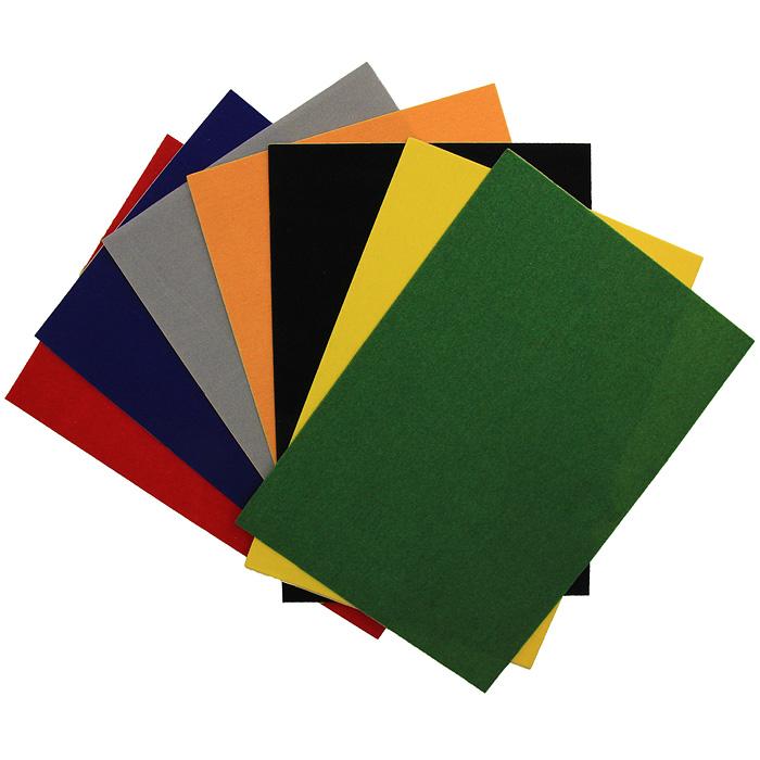 Цветная бархатная бумага Fancy, 7 цветов. FD010024FD010024Набор цветной бархатной бумаги Fancy состоит из листов оранжевого, серого, синего, красного, желтого, зеленого и черного цветов. Он позволит вам создавать всевозможные аппликации и поделки. Создание поделок из цветной бумаги позволяет ребенку развивать творческие способности, кроме того, это увлекательный досуг. Воплотите свои творческие фантазии в красочных аппликациях с помощью этого набора!