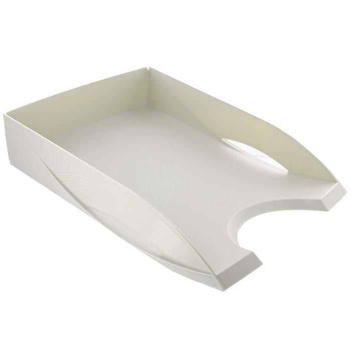 Лоток для бумаг горизонтальный Erich Krause Rainbow, цвет: светло-серый26576Горизонтальный литой лоток Erich Krause Rainbow из высококачественного ударопрочного пластика светло-серого оттенка - незаменимый атрибут офиса, предназначенный для хранения документов, рабочих бумаг, журналов и каталогов различных форматов. Для практичного использования предусмотрена возможность устанавливать несколько лотков друг на друга, а специальные фиксаторы препятствуют соскальзыванию. Выемка на передней части лотка облегчает вложение и извлечение нужных бумаг. Лоток Erich Krause Rainbow поможет содержать ваши бумаги в порядке, и они всегда будут находиться у вас под рукой. Характеристики: Размер лотка: 34 см x 25 см x 7 см. Размер упаковки: 35,5 см x 27 см x 7 см. Изготовитель: Россия. Бренд Erich Krause - это полный ассортимент канцтоваров для офиса и школы, который гарантирует безукоризненное исполнение разных задач в процессе работы или учебы, органично и естественно сопровождает вас день за днем. ...