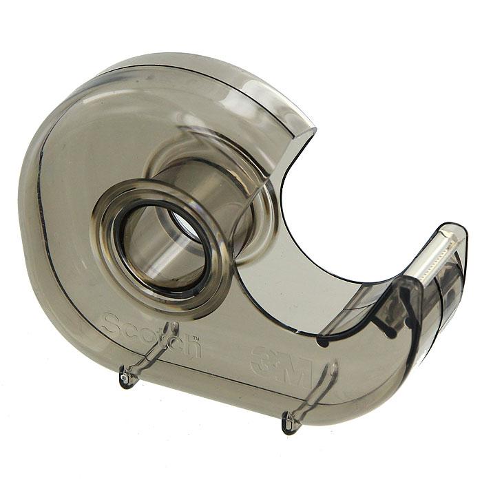 Диспенсер для клейкой ленты Scotch, цвет: серыйH-127Диспенсер для клейкой ленты Scotch станет незаменимым для склеивания поврежденных документов, упаковки коробок, пакетов и подарков. Благодаря металлическому ножу, вы без труда оторвете клейкую ленту необходимого вам размера.