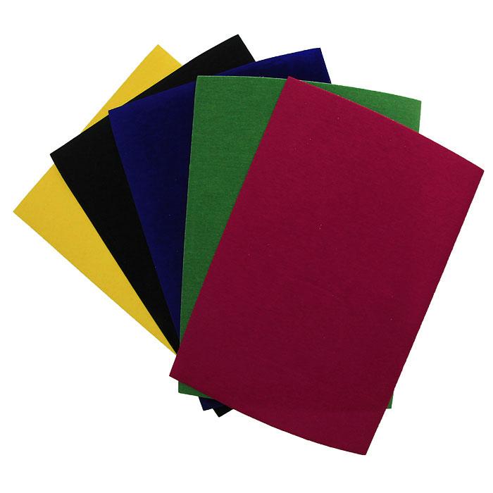Цветная бархатная бумага Fancy, 5 цветовFD010023Набор цветной бархатной бумаги Fancy состоит из листов красного, синего, черного, зеленого и желтого цветов. Он позволит вам создавать всевозможные аппликации и поделки. Создание поделок из цветной бумаги позволяет ребенку развивать творческие способности, кроме того, это увлекательный досуг. Воплотите свои творческие фантазии в красочных аппликациях с помощью этого набора!
