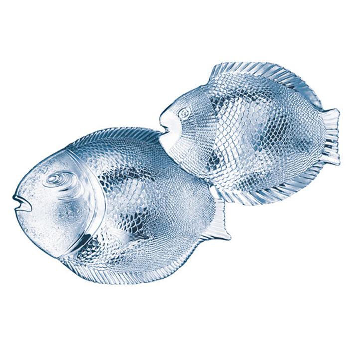 Набор тарелок Marine, 7 шт97159BНабор Marine состоит из 6 маленьких и 1 большой тарелки в форме рыбок. Изделия, выполненные из стекла и предназначены для красивой сервировки различных блюд. Тарелки сочетают в себе изысканный дизайн с максимальной функциональностью. Оригинальность оформления придется по вкусу и ценителям классики, и тем, кто предпочитает утонченность и изящность. Характеристики: Материал: стекло. Размер большой тарелки: 36 см х 2,5 см х 25 см. Размер маленкой тарелки: 25 см х 2,5 см х 21 см. Размер упаковки: 36 см х 12 с х 26,5 см. Производитель: Турция. Изготовитель: Россия. Артикул: 97159.