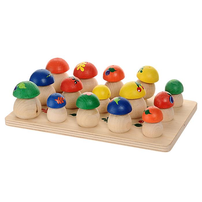 Краснокамская игрушка Игровой набор Грибочки