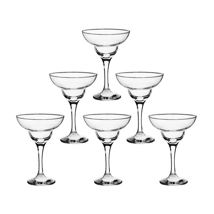 Набор бокалов Bistro для коктейлей, 250 мл, 6 шт44787Набор Bistro, состоящий из шести бокалов на высокой ножке, несомненно, придется вам по душе. Бокалы предназначены для подачи маргариты и других коктейлей. Они изготовлены из прочного высококачественного прозрачного стекла. Бокалы сочетают в себе элегантный дизайн и функциональность. Благодаря такому набору пить напитки будет еще вкуснее. Набор бокалов Bistro идеально подойдет для сервировки стола и станет отличным подарком к любому празднику.