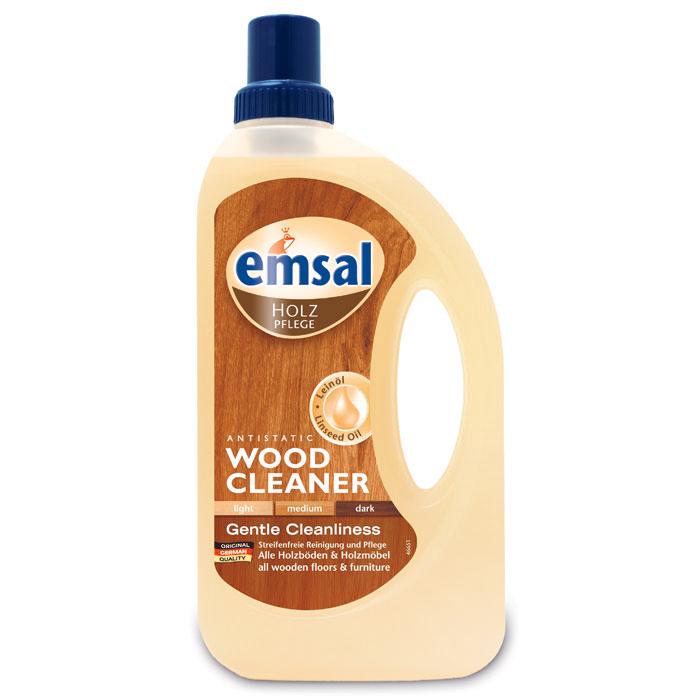 Средство для чистки деревянных поверхностей Emsal, 750 мл506948Чистящее средство Emsal идеально подходит для мягкого очищения и ухода за всеми моющимися деревянными поверхностями во всем доме: деревянными полами, деревянными рейками, деревянными дверями, мебелью, подоконниками, а также кухонными элементами. Подходит как для светлой, так и для темной древесины Уникальная рецептура с антистатической формулой не только удаляет трудновыводимую грязь и пятна, но и дольше оберегает вашу деревянную мебель от пыли. Благодаря льняному маслу, средство освежает цвет дерева, бережно ухаживает за ним, придает естественный блеск без наслоений. Характеристики: Объем: 750 мл. Производитель: Германия.