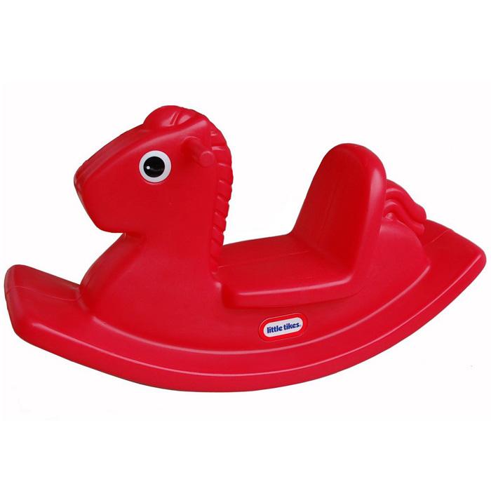 Качалка Лошадка, цвет: красный1670LЯркая качалка Лошадка, выполненная из прочного безопасного пластика, привлечет внимание малыша и не оставит его равнодушным. Качалка выполнена в виде лошадки красного цвета с большими глазками. Качалка сконструирована с учетом создания максимального комфорта малышу: удобные ручки, сиденье с высокой спинкой и выступы для ножек на дугах. Такая качалка может использоваться как дома, так и на открытом воздухе. Порадуйте своего малыша таким замечательным подарком!