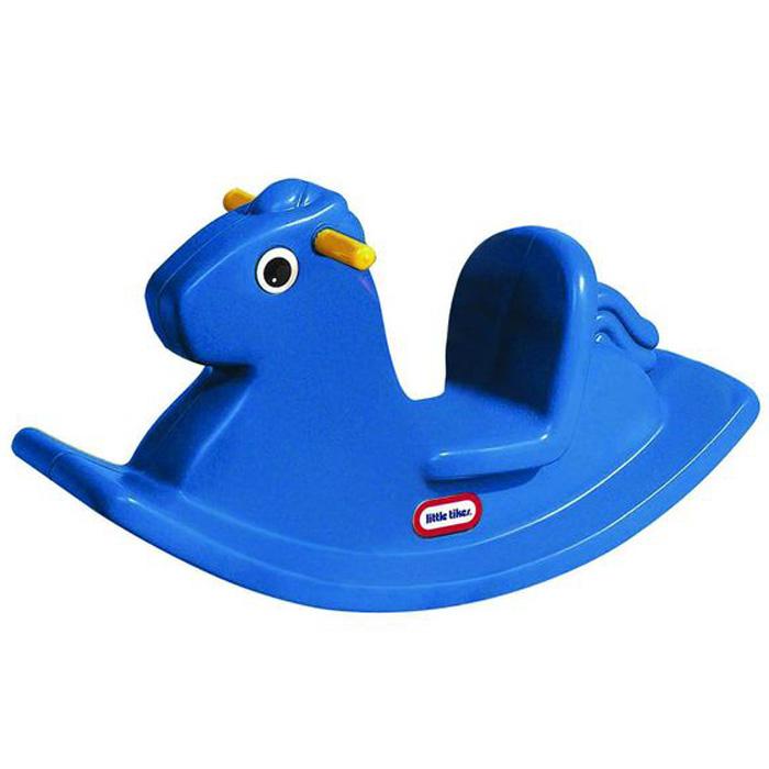 Качалка Лошадка, цвет: синий1672LЯркая качалка Лошадка, выполненная из прочного безопасного пластика, привлечет внимание малыша и не оставит его равнодушным. Качалка выполнена в виде лошадки синего цвета с большими глазками. Качалка сконструирована с учетом создания максимального комфорта малышу: удобные ручки, сиденье с высокой спинкой и выступы для ножек на дугах. Такая качалка может использоваться как дома, так и на открытом воздухе. Порадуйте своего малыша таким замечательным подарком!