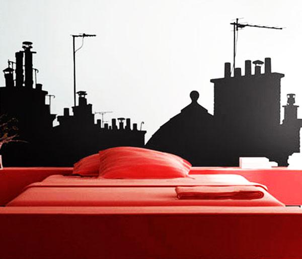 Стикер Paristic На крышах Парижа, вид А, 243 х 170 см300144Добавьте оригинальность вашему интерьеру с помощью необычного стикера На крышах Парижа. Изображение на стикере имитирует силуэты домов ночного города, приглашая в путешествие по крышам парижских зданий. Необыкновенный всплеск эмоций в дизайнерском решении создаст утонченную и изысканную атмосферу не только спальни, гостиной или детской комнаты, но и даже офиса. Стикер выполнен из матового винила - тонкого эластичного материала, который хорошо прилегает к любым гладким и чистым поверхностям, легко моется и держится до семи лет, не оставляя следов. Сегодня виниловые наклейки пользуются большой популярностью среди декораторов по всему миру, а на российском рынке товаров для декорирования интерьеров - являются новинкой.