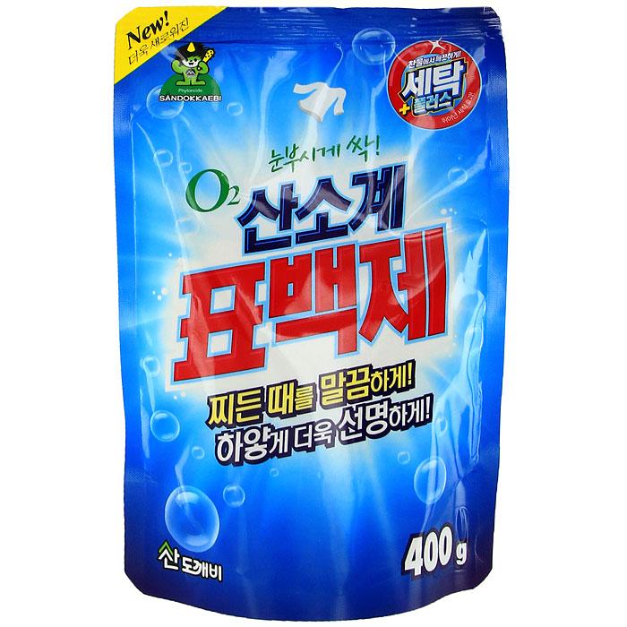 Отбеливатель кислородный Oxycle, 400 г3814Кислородный отбеливатель Oxycle имеет замечательный отбеливающий эффект, усиленный действием активного кислорода. Подходит для цветных и белых тканей. Выводит загрязнения в холодной воде так же хорошо, как в горячей. Специальные добавки способствуют удалению трудной грязи и пятен. Экономичен. Может быть использован для детской одежды и нижнего женского белья. Дозировка: При стирке: для активаторных стиральных машин - 10 г отбеливателя; для машин автоматов на 3-5 кг белья - 15 г отбеливателя. Для удаления пятен: использовать 10 г отбеливателя на 1 л воды. Для стерилизации: 5 г отбеливателя на 5 л воды.