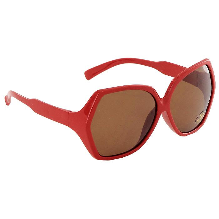 Солнцезащитные очки Pro Vision, женские, цвет: красный DC220147BDC220147BСолнцезащитные поляризационные женские очки Pro Vision - это произведение искусства, которое имеет полезное практическое применение в жизни. Не стоит обращать внимание только на внешний вид очков, следует пристально присмотреться к их главной характеристике - степени защиты от солнечных лучей. Именно от этого показателя зависит здоровье ваших глаз. Основные особенности очков Pro Vision: Не пропускают ультрафиолетовое излучение, которое крайне вредно для глаз; Способствуют улучшению цветоразличения даже в неспокойную погоду; Повышают контрастность зрения. Надев эти очки, вы сможете четко видеть пространство впереди себя. Оправа очков легкая и не создает никакого дискомфорта. Цвет линз - коричневый, оправа - красная.
