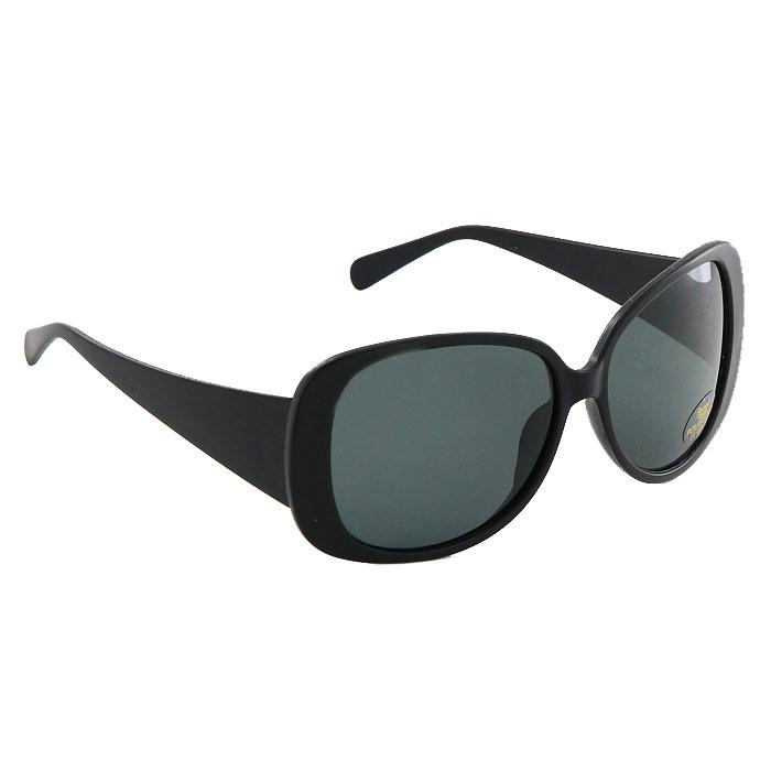 Солнцезащитные очки Pro Vision, женские, цвет: черный. DC100197GDC100197GСолнцезащитные поляризационные женские очки Pro Vision - это произведение искусства, которое имеет полезное практическое применение в жизни. Не стоит обращать внимание только на внешний вид очков, следует пристально присмотреться к их главной характеристике - степени защиты от солнечных лучей. Именно от этого показателя зависит здоровье ваших глаз. Основные особенности очков Pro Vision: Не пропускают ультрафиолетовое излучение, которое крайне вредно для глаз; Способствуют улучшению цветоразличения даже в неспокойную погоду; Повышают контрастность зрения. Надев эти очки, вы сможете четко видеть пространство впереди себя. Оправа очков легкая и не создает никакого дискомфорта. Цвет линз - черный, оправа - черная.