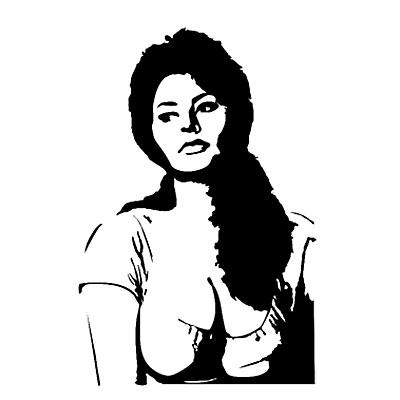 Стикер Paristic Софи Лорен, цвет: черный, 69 х 103 смПР00171Добавьте оригинальность вашему интерьеру с помощью необычного стикера Софи Лорен. Для всех поклонников великой актрисы Софи Лорен предлагаемый стикер придется по душе. Необыкновенный всплеск эмоций в дизайнерском решении создаст утонченную и изысканную атмосферу не только спальни, гостиной или детской комнаты, но и даже офиса. Стикер выполнен из матового винила - тонкого эластичного материала, который хорошо прилегает к любым гладким и чистым поверхностям, легко моется и держится до семи лет, не оставляя следов. Сегодня виниловые наклейки пользуются большой популярностью среди декораторов по всему миру, а на российском рынке товаров для декорирования интерьеров - являются новинкой.