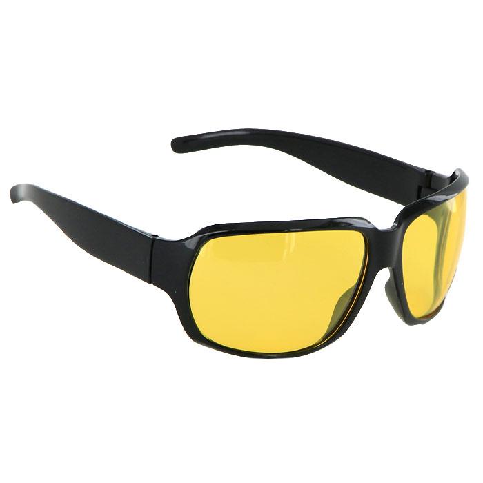 Солнцезащитные очки Pro Vision, женские, цвет: черный. DC220065YDC220065YСолнцезащитные поляризационные женские очки Pro Vision - это произведение искусства, которое имеет полезное практическое применение в жизни. Не стоит обращать внимание только на внешний вид очков, следует пристально присмотреться к их главной характеристике - степени защиты от солнечных лучей. Именно от этого показателя зависит здоровье ваших глаз. Основные особенности очков Pro Vision: Не пропускают ультрафиолетовое излучение, которое крайне вредно для глаз; Способствуют улучшению цветоразличения даже в неспокойную погоду; Повышают контрастность зрения. Надев эти очки, вы сможете четко видеть пространство впереди себя. Оправа очков легкая и не создает никакого дискомфорта. Цвет линз - желтый, оправа - черная.