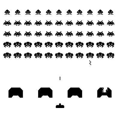 Стикер Paristic Space invaders, 89 х 100 см44066Добавьте оригинальность вашему интерьеру с помощью необычного стикера Space invaders. Великолепное исполнение добавит изысканности в дизайн. Изображение на стикере имитирует компьютерных космических монстров. Изображения можно разделить и разместить в любых местах в выбранном вами помещении, создав тем самым оригинальную композицию. Необыкновенный всплеск эмоций в дизайнерском решении создаст утонченную и изысканную атмосферу не только спальни, гостиной или детской комнаты, но и даже офиса. Стикер выполнен из матового винила - тонкого эластичного материала, который хорошо прилегает к любым гладким и чистым поверхностям, легко моется и держится до семи лет, не оставляя следов. Сегодня виниловые наклейки пользуются большой популярностью среди декораторов по всему миру, а на российском рынке товаров для декорирования интерьеров - являются новинкой.