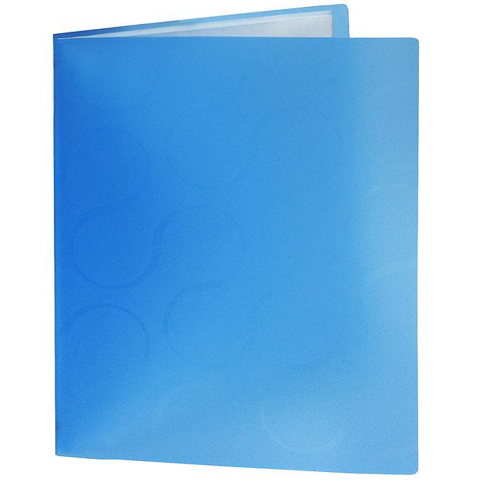 Папка с файлами Omega, 20 листов, цвет: синий0410-0032-03Стильная папка Omega с файлами, выполненная из плотного полупрозрачного пластика синего цвета, станет незаменимым деловым аксессуаром. Папка оснащена 20 файлами для хранения документов и листов. Каждый файл обладает текстурной поверхностью, которая позволяет легко и быстро его открыть. Декоративный принт на обложке создаст яркий акцент на вашем рабочем столе.