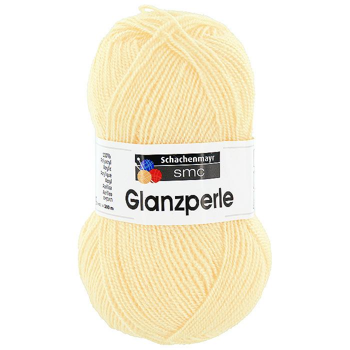 Пряжа для вязания Glanzperle, цвет: светло-желтый (01351)9801241 - 01351Пряжа для вязания Glanzperle изготовлена из акрила. Акрил является синтетическим волокном, по многим свойствам близким к шерсти. Пряжа Glanzperle соединяет в себе лучшие качества - она мягкая, теплая, пушистая, и в то же время очень прочная. Изделия из этой пряжи устойчивы к образованию катышков, хорошо держат форму, не садятся и не растягиваются, а также они не подвержены поеданию молью.