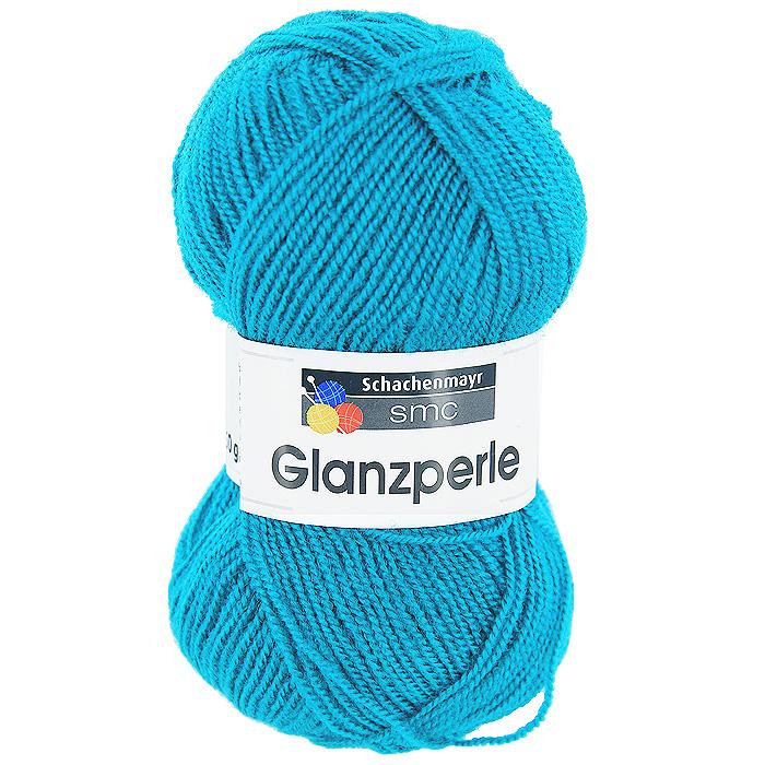 Пряжа для вязания Glanzperle, цвет: ярко-голубой (01439)9801241 - 01439Пряжа для вязания Glanzperle изготовлена из акрила. Акрил является синтетическим волокном, по многим свойствам близким к шерсти. Пряжа Glanzperle соединяет в себе лучшие качества - она мягкая, теплая, пушистая, и в то же время очень прочная. Изделия из этой пряжи устойчивы к образованию катышков, хорошо держат форму, не садятся и не растягиваются, а также они не подвержены поеданию молью.