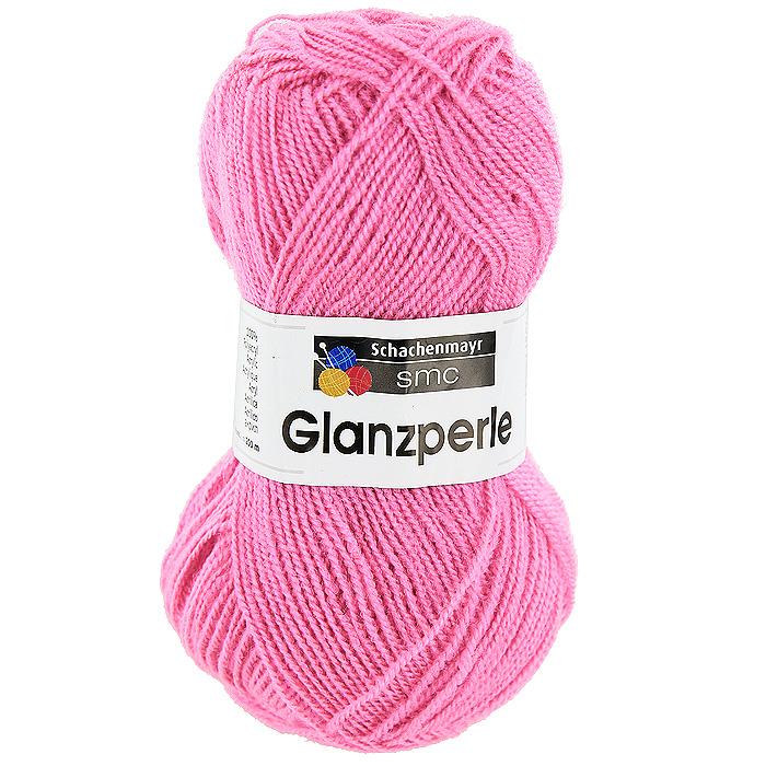 Пряжа для вязания Glanzperle, цвет: ярко-розовый (01386)9801241 - 01386Пряжа для вязания Glanzperle изготовлена из акрила. Акрил является синтетическим волокном, по многим свойствам близким к шерсти. Пряжа Glanzperle соединяет в себе лучшие качества - она мягкая, теплая, пушистая, и в то же время очень прочная. Изделия из этой пряжи устойчивы к образованию катышков, хорошо держат форму, не садятся и не растягиваются, а также они не подвержены поеданию молью.
